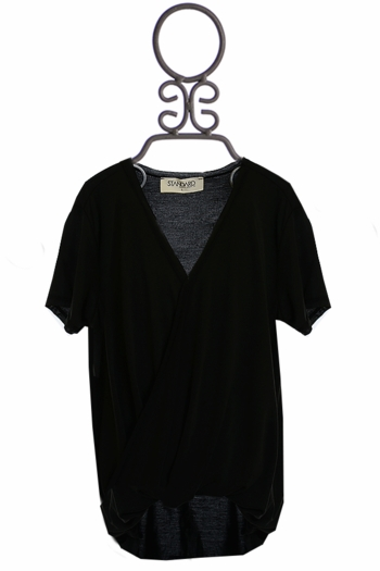 PPLA Black Crossover Top (Size LG 14-16)