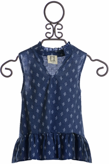 PPLA Chambray Tank for Spring  (LG 14/16)