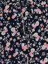 PPLA Floral Shorts in Navy (Size SM 7/8) Alternate View #2
