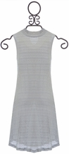 PPLA Light Gray Dress for Tweens (Size SM 7/8)