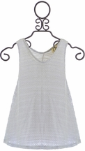 PPLA Tank Top in Light Gray (Size SM 7/8)