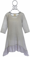 PPLA Tween Tunic in Gray (Size SM 7/8)