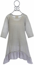 PPLA Tween Tunic in Gray (Size SM 7/8) Alternate View