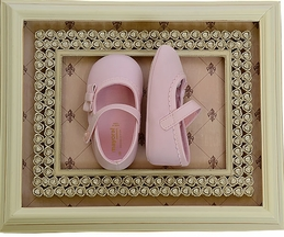 Precious in Pink Infant Shoe with Bow (infant 2,3,4)