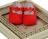 Ready for Spring Baby Shoe in Red (infant 0,1,3) Alternate View #2