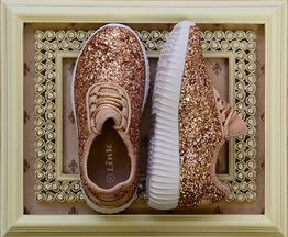 Rise and Shine Rose Gold Shoes
