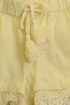 Rylee and Cru Ivory Shorts Lace Scallop SOLD OUT Alternate View #2