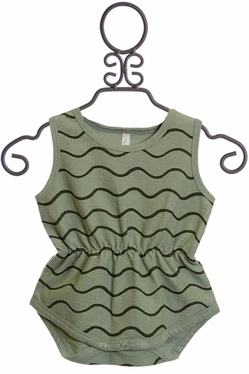Rylee and Cru Rolling Waves Romper (3-6Mos & 12-18Mos)