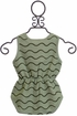 Rylee and Cru Rolling Waves Romper (3-6Mos & 12-18Mos) Alternate View