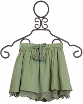 Rylee and Cru Seafoam Skirt for Girls (Size 4/5)