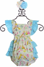 Serendipity Birdie Bubble Infant (9Mos,12Mos,24Mos)