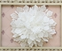 Serendipity Ivory Rosette Pin for Girls Alternate View