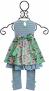 Serendipity Lavender Fields Dress and Leggings (Size 12Mos) Alternate View #2