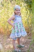 Serendipity Lavender Fields Tunic and Shorties (Size 12Mos) Alternate View