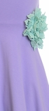 Serendipity Lavender Maxi Dress with Rosette SOLD OUT Alternate View #2