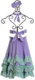 Serendipity Lavender Maxi Dress with Rosette SOLD OUT Alternate View