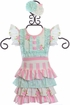 Serendipity Short Set English Rose (Size 18Mos) Alternate View