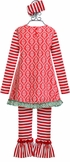 Serendipity Tunic with Ruffle Leggings in (Size 3T) Alternate View