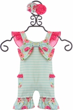 Serendipity Vintage Bloom Shortall (Size 24Mos)