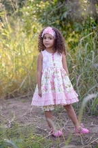 Serendipity Wild Rose Dress and Shorties (Size 6Mos)