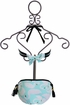SnapperRock Bikini Turquoise and White Swans (Size 4) Alternate View