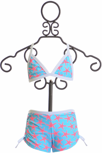 SnapperRock Bikini with Boyshorts (4 & 6)