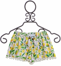 SnapperRock Lemon Swim Shorts (Size 4)