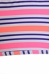SnapperRock Neon Stripe Girls Bikini (4 & 6) Alternate View #2