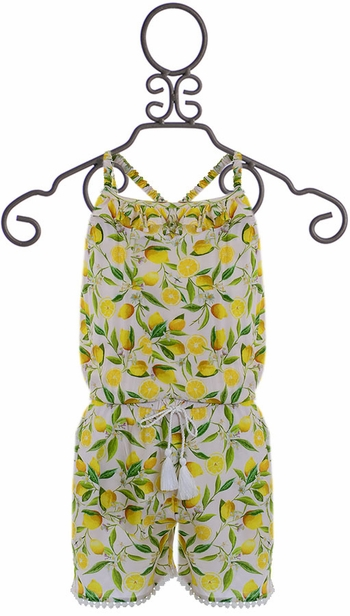 SnapperRock Summer Romper Lemon (Size 14)