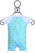 SnapperRock UV50 Swimsuit for Babies (0-6Mos & 6-12Mos)