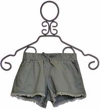 Splendid Olive Shorts for Tweens (Size 7/8)