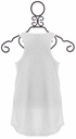 Splendid Smooth White Tank Top for Girls (Size 10) Alternate View