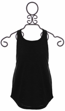 Splendid Soft Black Tank Top for Girls (7/8 & 10)