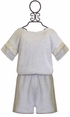 Splendid Tween Sweatshirt Romper with Lace (12 & 14) Alternate View