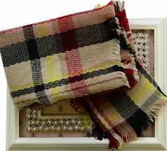 Tartan Scarf for Girls