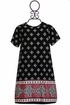 Tru Luv Back To School Dress in Black (7 & 12) Alternate View