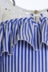 Truly Me Blue Stripe Dress for Girls (4 & 14) Alternate View #2