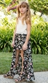 Truly Me Maxi Skirt Floral Romper SOLD OUT Alternate View #4