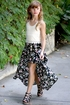 Truly Me Maxi Skirt Floral Romper SOLD OUT Alternate View #3