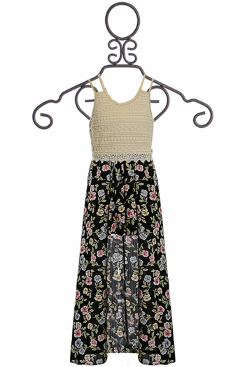 Truly Me Maxi Skirt Floral Romper SOLD OUT