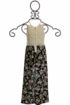 Truly Me Maxi Skirt Floral Romper SOLD OUT Alternate View
