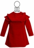 Vintage Red Sweater Dress and Hat (12Mos & 24Mos) Alternate View