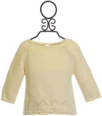 Winter Day Ivory Sweater (12Mos,18Mos,3T,4T)