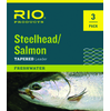 3-Pack Rio Steelhead Salmon Tapered Leaders - IMPROVED 2015/16