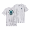 Men's Fly Lines Cotton Poly Responsibility T Shirt