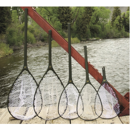 Nomad landing net replacement rubber net for Fly fishing net