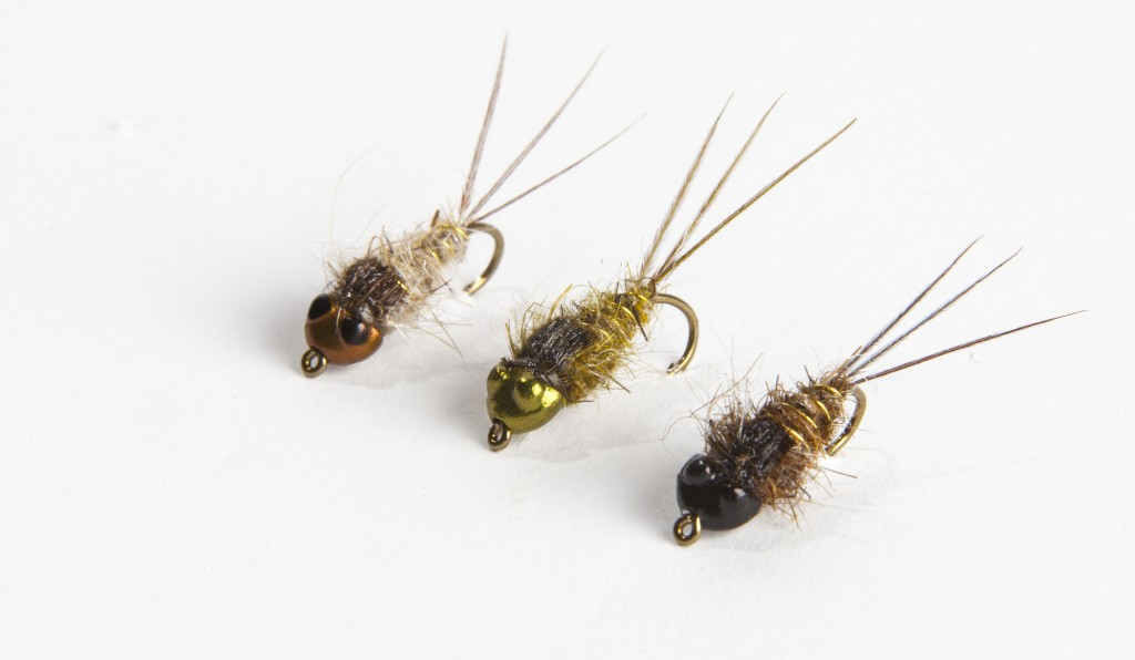 Nymph head evolution mayfly clinger and crawler tungsten for Flymen fishing company