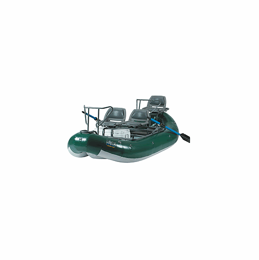 Outcast pac 1300 inflatable fly fishing boat for Fly fishing raft for sale