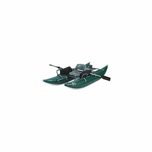 Inflatable pontoon boats and fishing float tubes - Outcast Pac 800 Pontoon Inflatable Fly Fishing Boats
