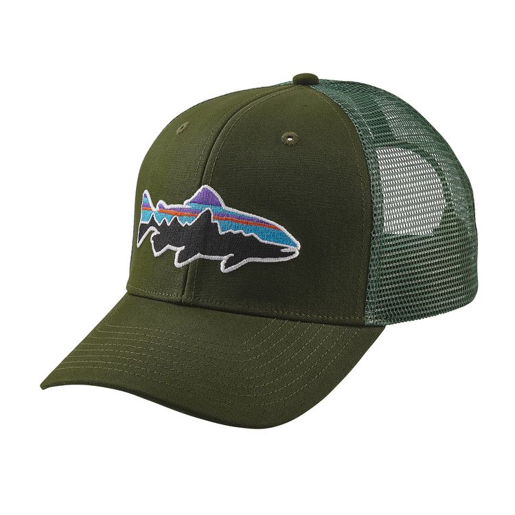 Patagonia fitz roy trout cap patagonia hats headwear for Patagonia fish hat